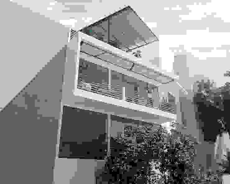 Balcon el peñon Casas de estilo minimalista de Am arquitectura Minimalista
