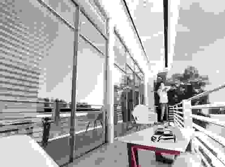 Balcon el peñon de Am arquitectura Minimalista