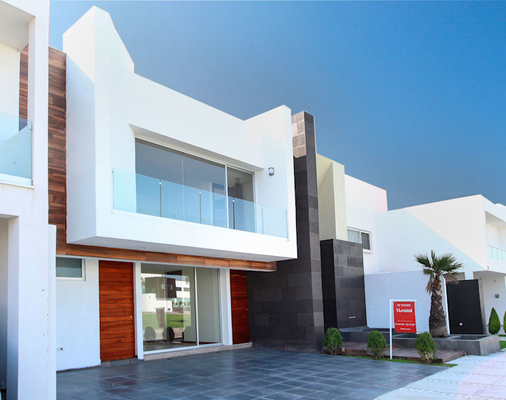 Residencia Mombeltran 72 Casas modernas de Herrera Arquitectos H&H Moderno