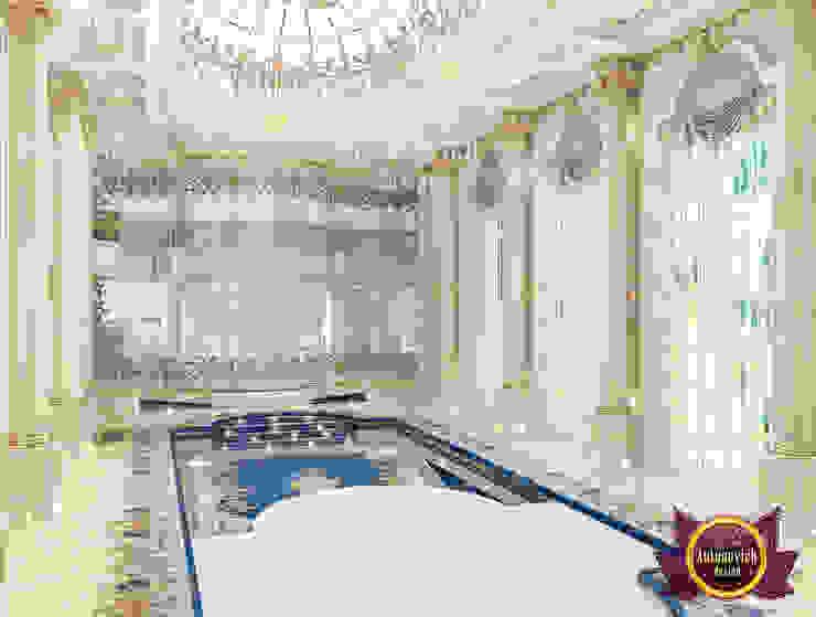Private Pool Interior Design by Luxury Antonovich Design