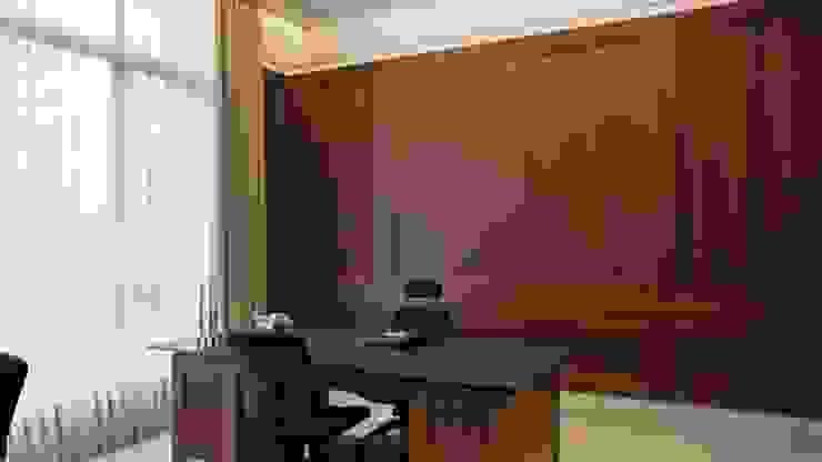 AT House Ruang Studi/Kantor Modern Oleh ARF interior Modern