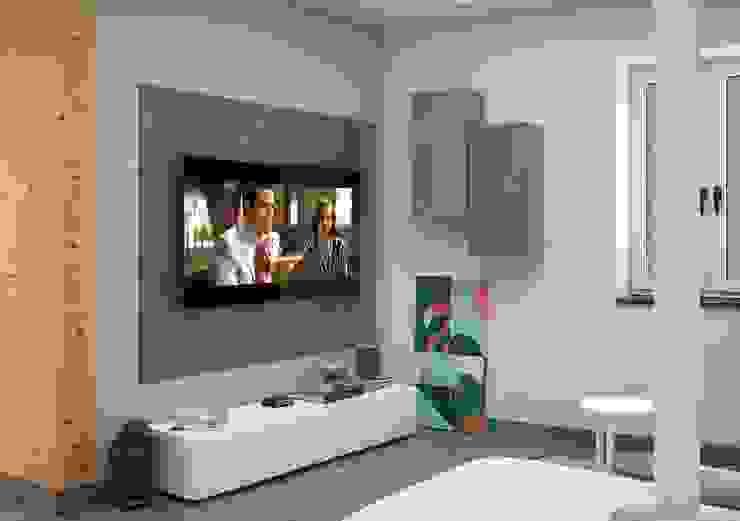 Moderne Wohnzimmer von Santoro Design Render Modern