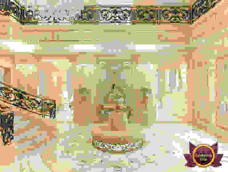 Famous Hall Interior Design by Luxury Antonovich Design