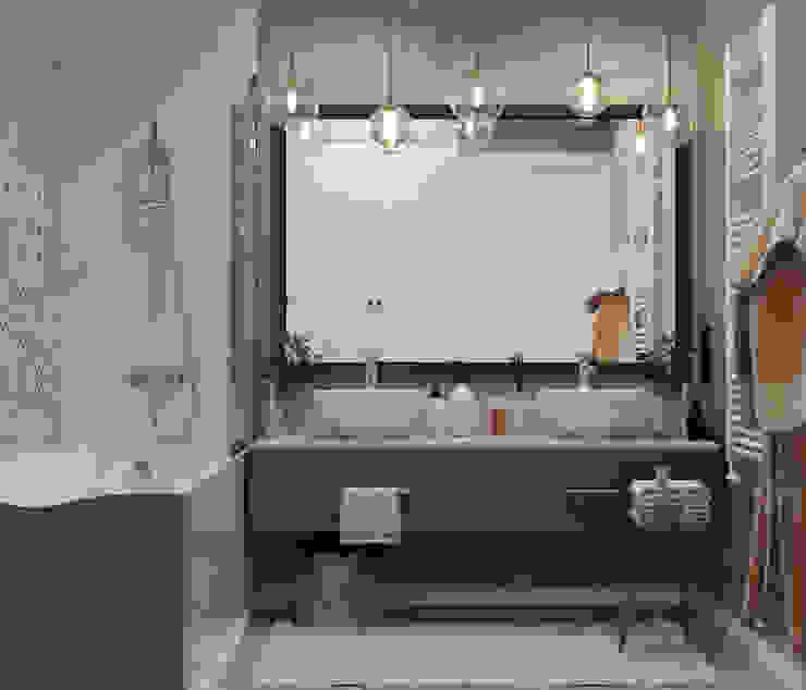 Bathroom by Проектно-строительная компания УралДеко, Eclectic