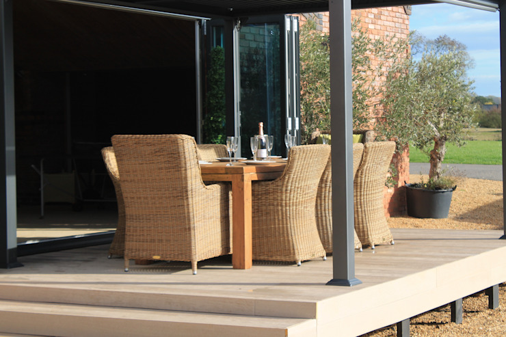 Galaxy Gazebo Modern garden by Garden Furniture Centre Modern