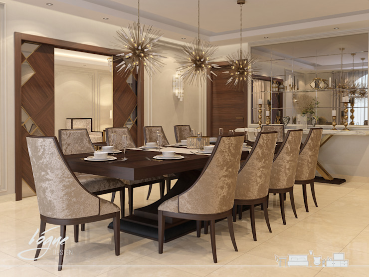 Classic style dining room by Vogue Design Classic