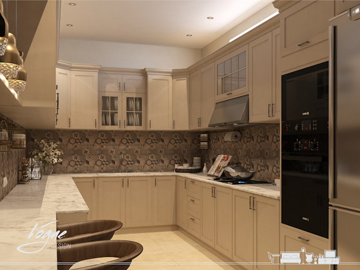 Classic style kitchen by Vogue Design Classic