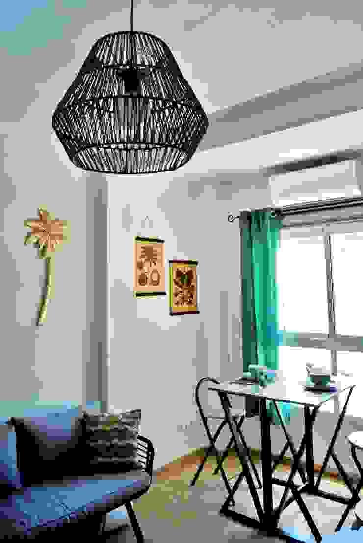 เขตร้อน  โดย Housing & Colours, ทรอปิคอล ไฟเบอร์ธรรมชาติ Beige