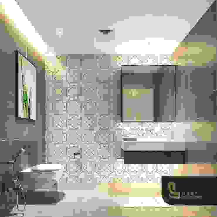 Mediterranean style bathroom by Luxury Solutions Mediterranean Tiles