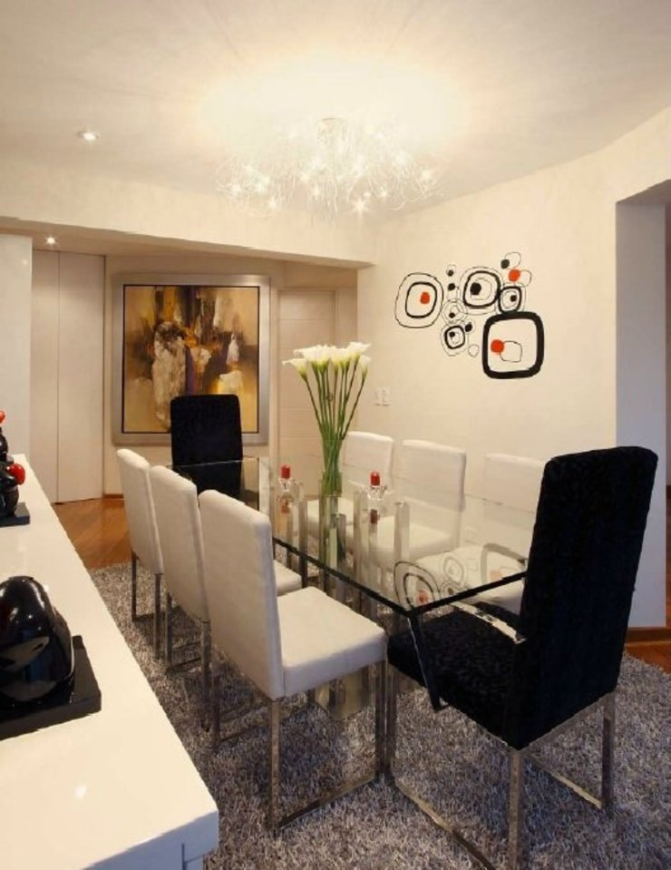 Modern dining room by Diseño Global by Romi Estrada Modern