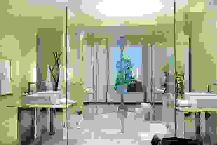 Cristina Szabo Designer de Bem-Estar Baños de estilo moderno Verde