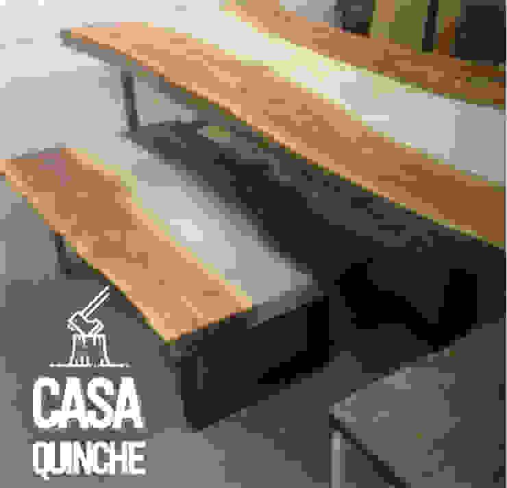 Centros y mesas RAW Comedores de estilo moderno de Casa Quinche Moderno