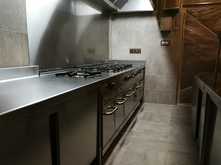 Finca privada en toledo MAQUINARIA PINAR SL Cocinas integrales