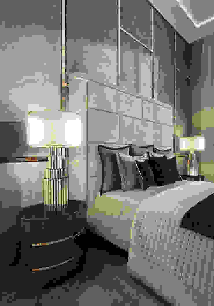 Classic style bedroom by GLAZOV design group концептуальная студия дизайна интерьеров Classic