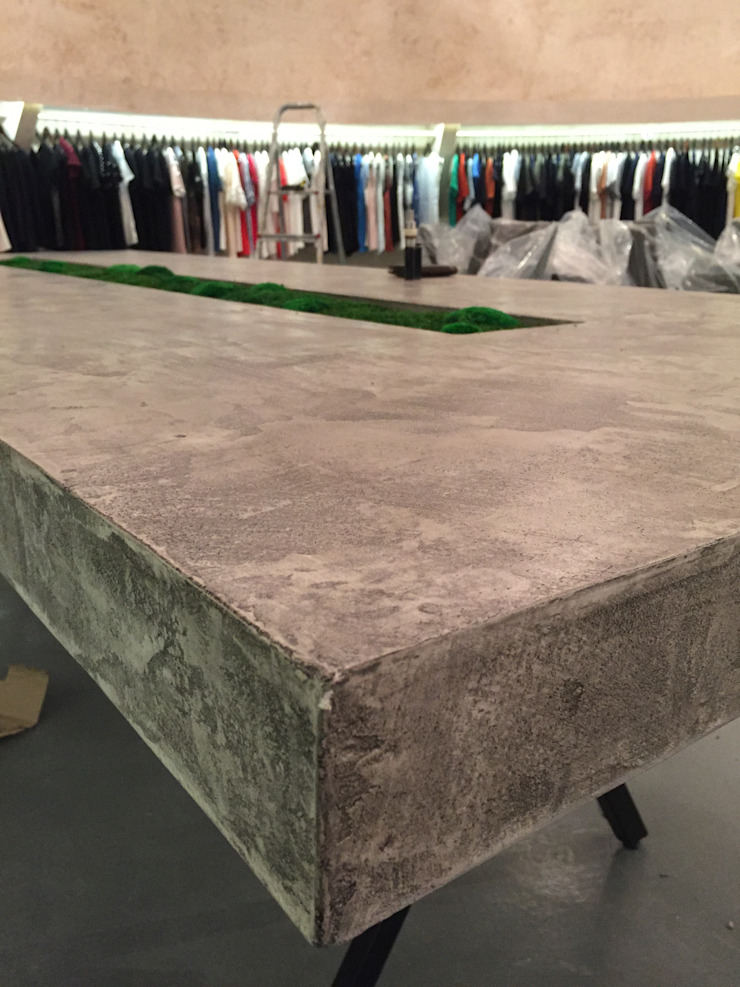 توسط BJORNSON&CHELET CONCRETE FURNITURE اسکاندیناویایی سیمان
