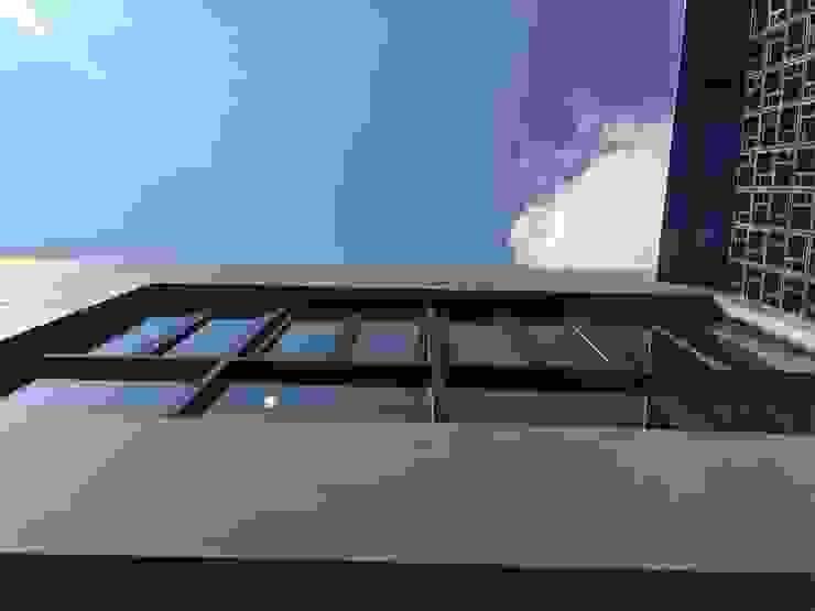 Komplek Bougenville Antapani Bandung Dinding & Lantai Minimalis Oleh indra firmansyah architects Minimalis