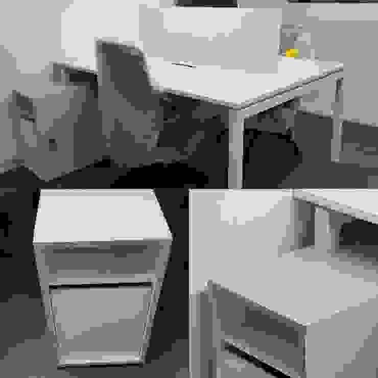 Bench 2 personas enfrentadas. de SIMPLEMENTE AMBIENTE mobiliarios hogar y oficinas santiago Escandinavo