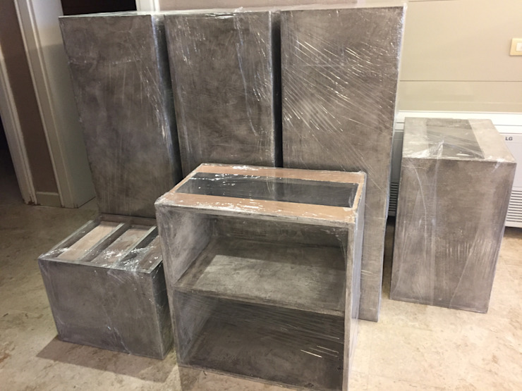 اسکاندیناوی  توسطBJORNSON&CHELET CONCRETE FURNITURE, اسکاندیناویایی