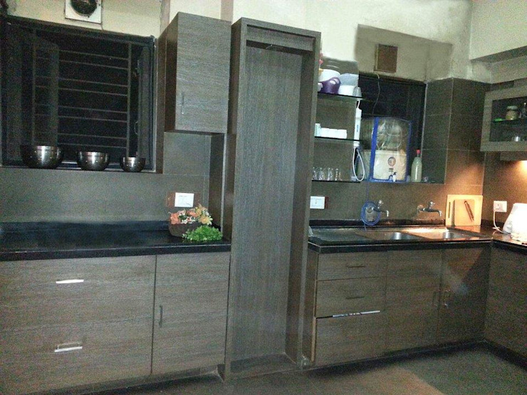 KITCHEN by Rashi Agarwal Designs Modern Plywood