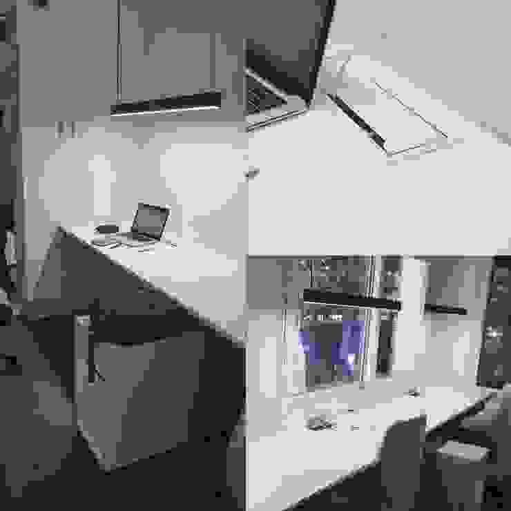Bench lineal para 3 personas de SIMPLEMENTE AMBIENTE mobiliarios hogar y oficinas santiago Escandinavo