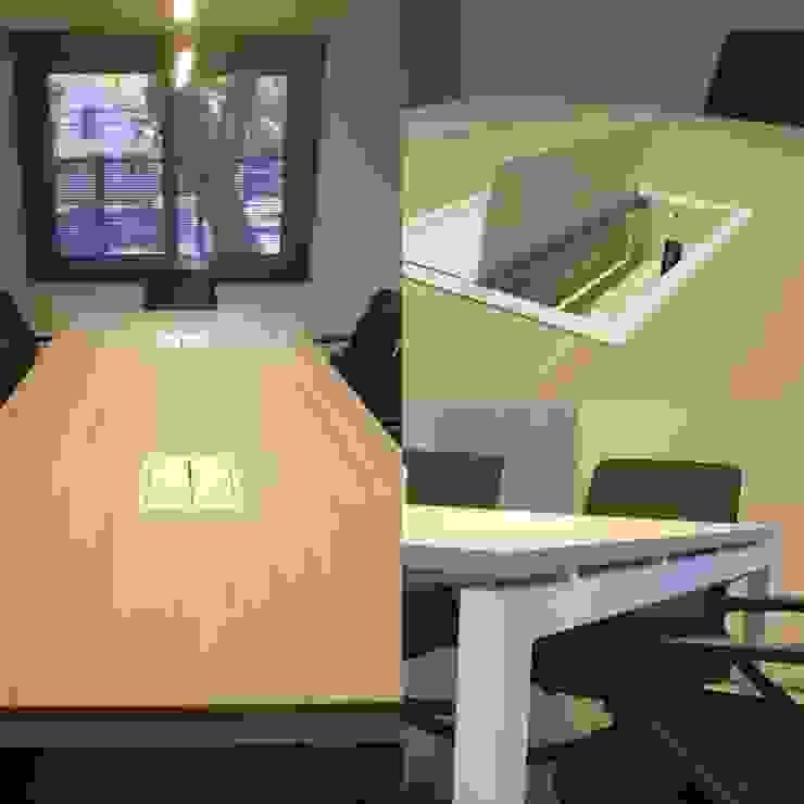 Mesa de reunión de SIMPLEMENTE AMBIENTE mobiliarios hogar y oficinas santiago Escandinavo