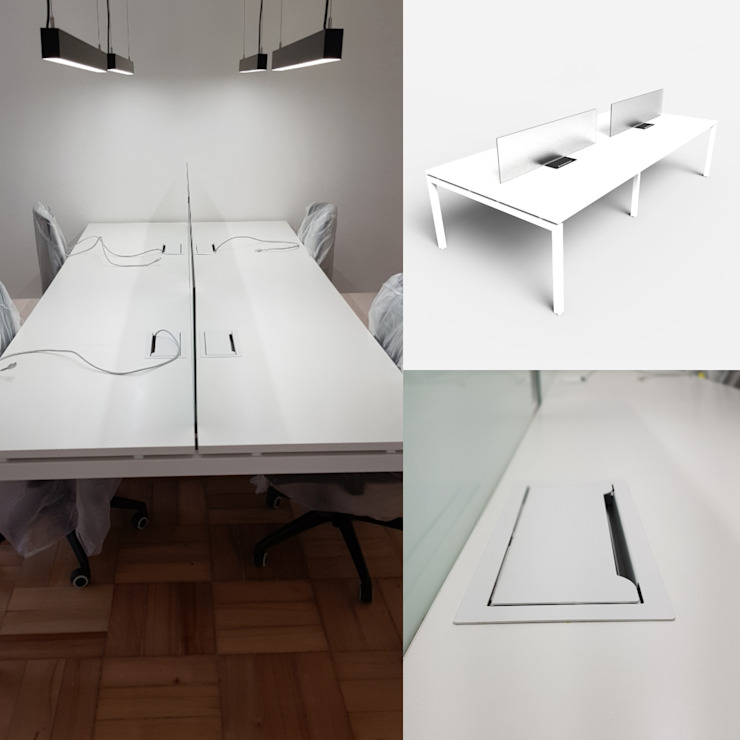 Bench 4 personas de SIMPLEMENTE AMBIENTE mobiliarios hogar y oficinas santiago Escandinavo