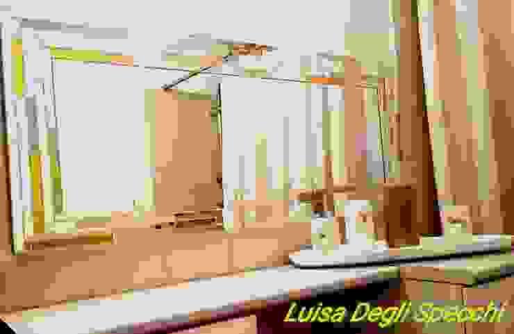 Specchi Artistici Da Bagno.Specchio Da Bagno Modello Trendy Di Luisa Degli Specchi Homify