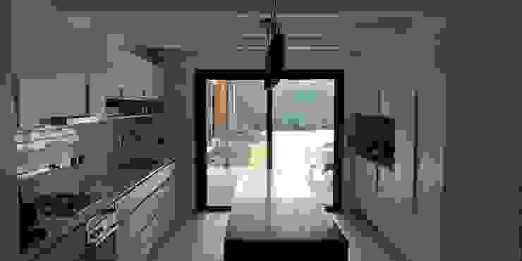 Cocina casa Punta Chica de German Salas arquitectos Minimalista