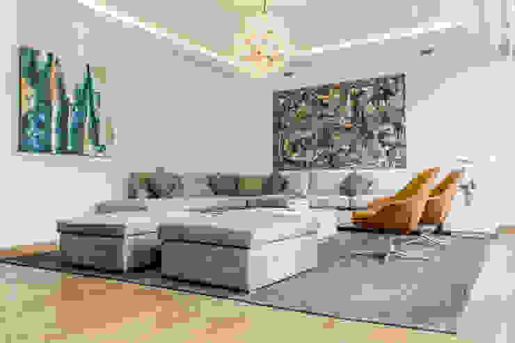 Livings modernos: Ideas, imágenes y decoración de BP construcciones & acabados Moderno