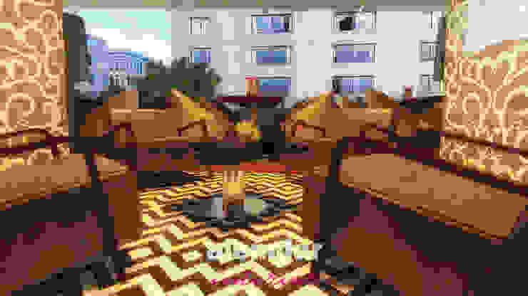 Cafe Restoran elif alemdar interior Modern Ahşap-Plastik Kompozit