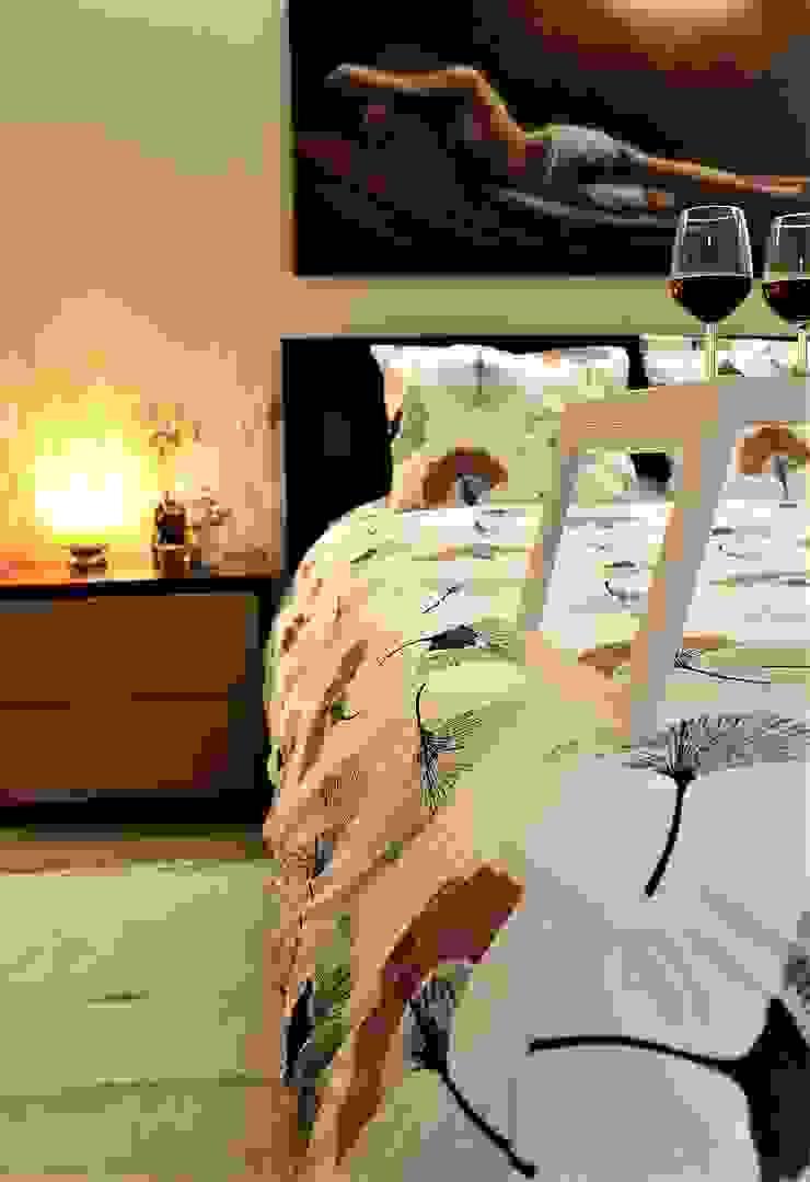 DEPOIS - dormitorio de casal por PROJETARQ