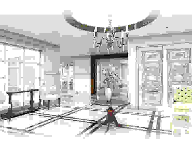 Foyer Area.: ผสมผสาน  โดย Hip and Classic Design Studio, ผสมผสาน
