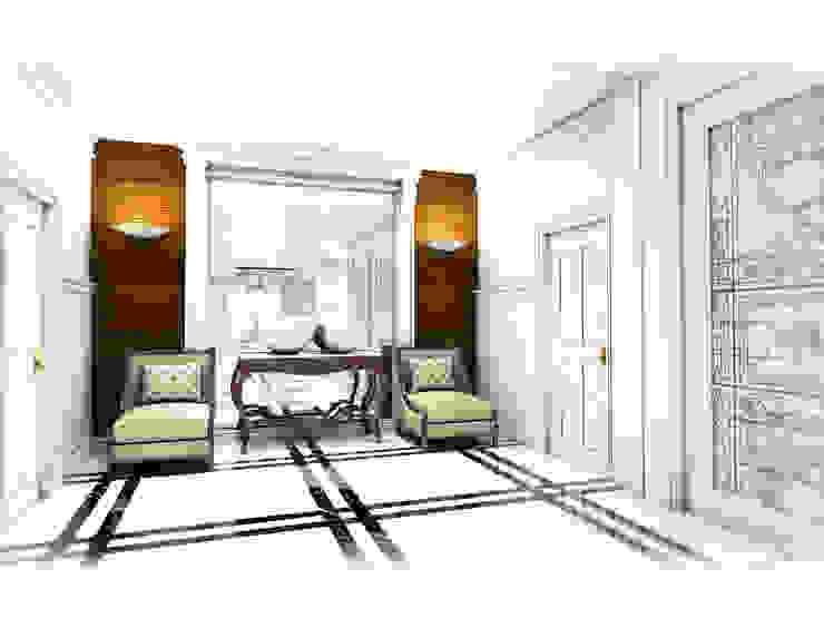 Hallway: ผสมผสาน  โดย Hip and Classic Design Studio, ผสมผสาน