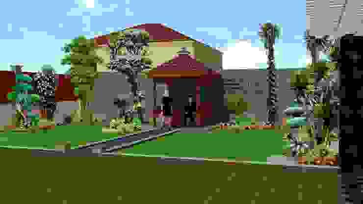 Konsep lanskap taman minimalis klasik - part I TUKANG TAMAN SURABAYA - jasataman.co.id Garden Plants & flowers Multicolored
