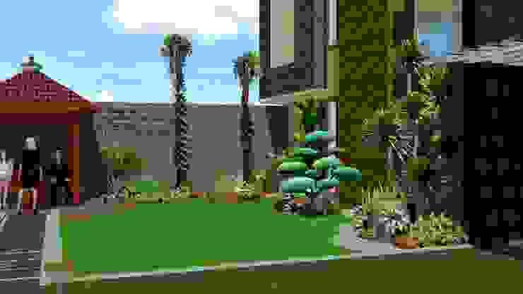 Konsep lanskap taman minimalis klasik - part II TUKANG TAMAN SURABAYA - jasataman.co.id Garden Plants & flowers Multicolored
