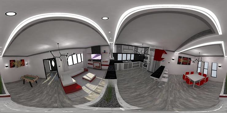 Diseño de interiores de Arq. William Fernandez