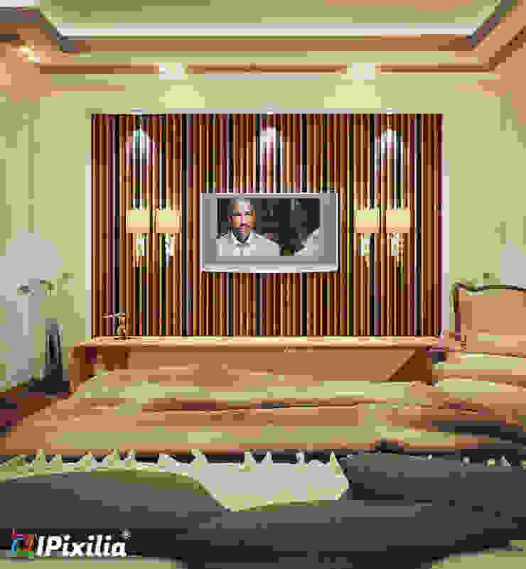 Elegant Hotel Room Modern Bedroom by IPixilia Modern