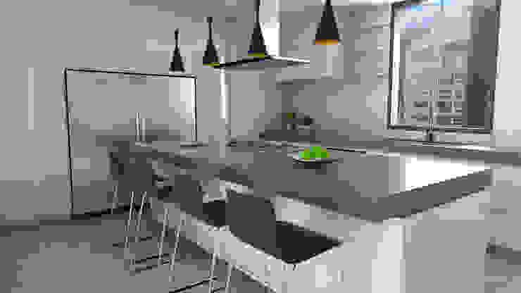 cocina Cocinas de estilo moderno de Proyectos C&H C.A Moderno