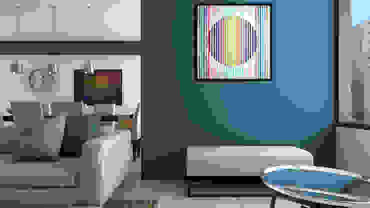 Area de estar Salas de estilo moderno de Proyectos C&H C.A Moderno