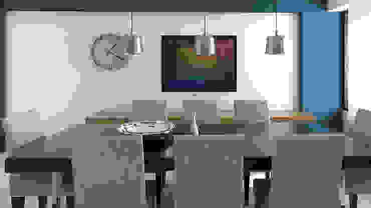 comedor Comedores de estilo moderno de Proyectos C&H C.A Moderno