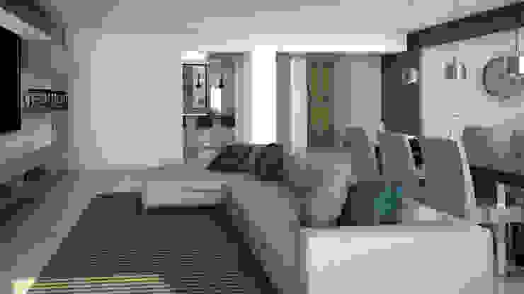 Sala Salas de estilo moderno de Proyectos C&H C.A Moderno