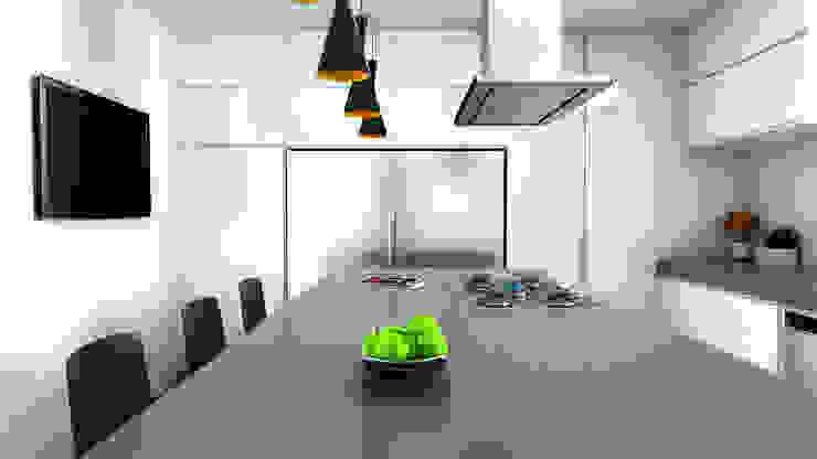 cocina de Proyectos C&H C.A Moderno