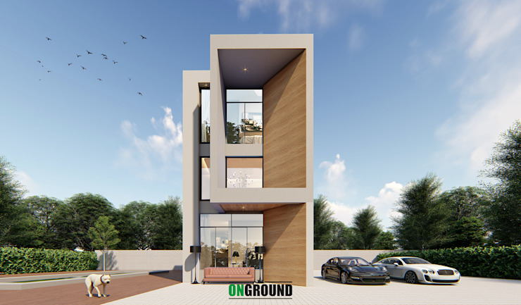 BOX OF FAMILY โดย The OnGround บริษัทรับสร้างบ้านสไตล์ Modern Japanese มินิมัล
