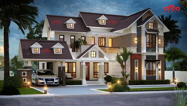 Designers in Kochi Asian style houses by Creo Homes Pvt Ltd Asian