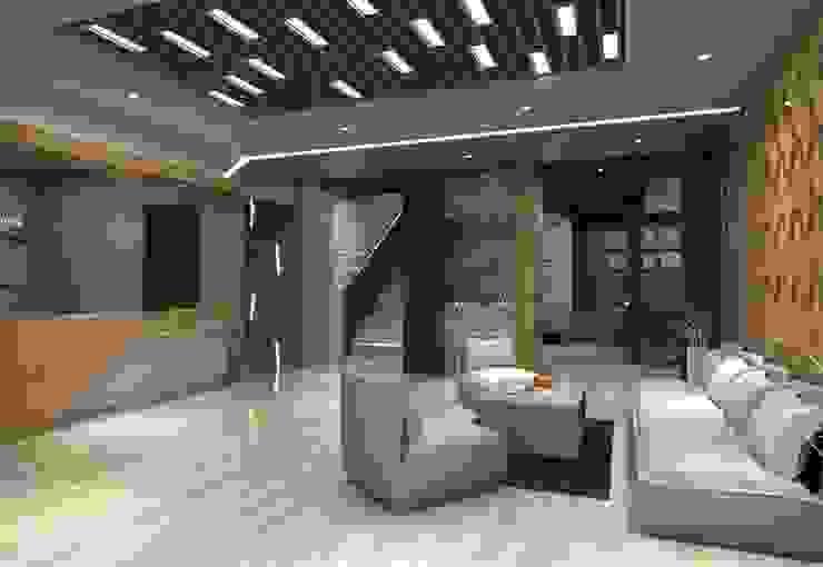 Lobby Guest House Bandung:modern  oleh Maxx Details, Modern