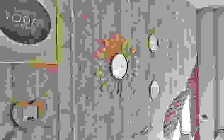 Detalles decoración mural dorados Housing & Colours DormitoriosAccesorios y decoración Metal Ámbar/Dorado