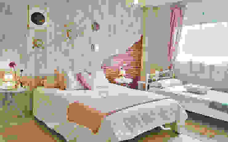 ห้องนอน by Housing & Colours