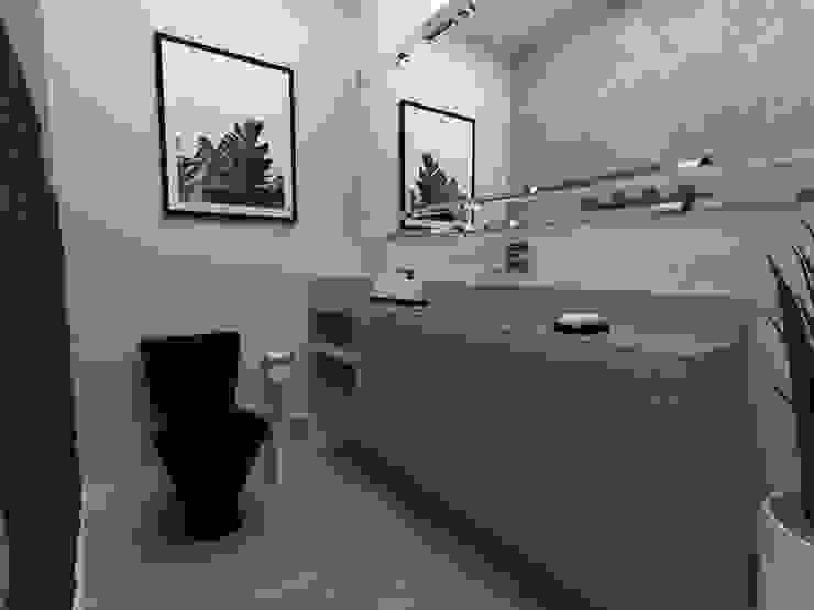 Kamar Mandi Modern Oleh Julia Pinheiro Interiores Modern