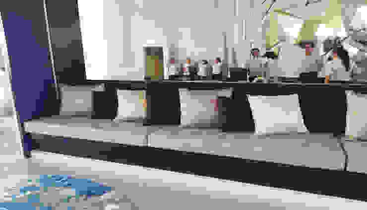 Recepción Hotel Royalton Suites Cancún Resort & Spa de EASYDEKOR Textiles de alto rendimiento Moderno