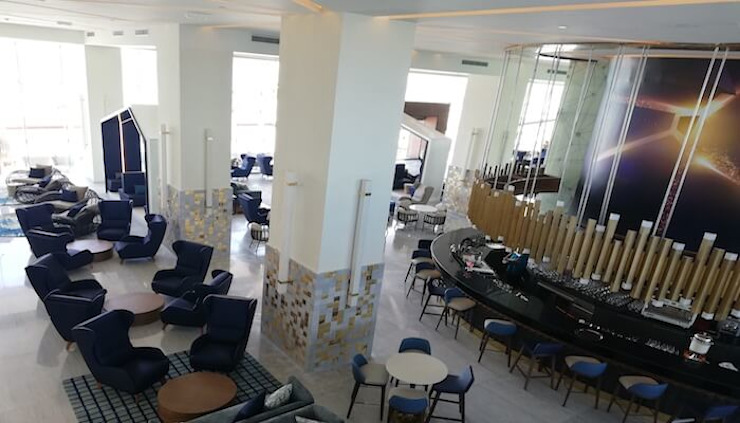 Restaurante Hotel Royalton Suites Cancún Resort & Spa de EASYDEKOR Textiles de alto rendimiento Moderno